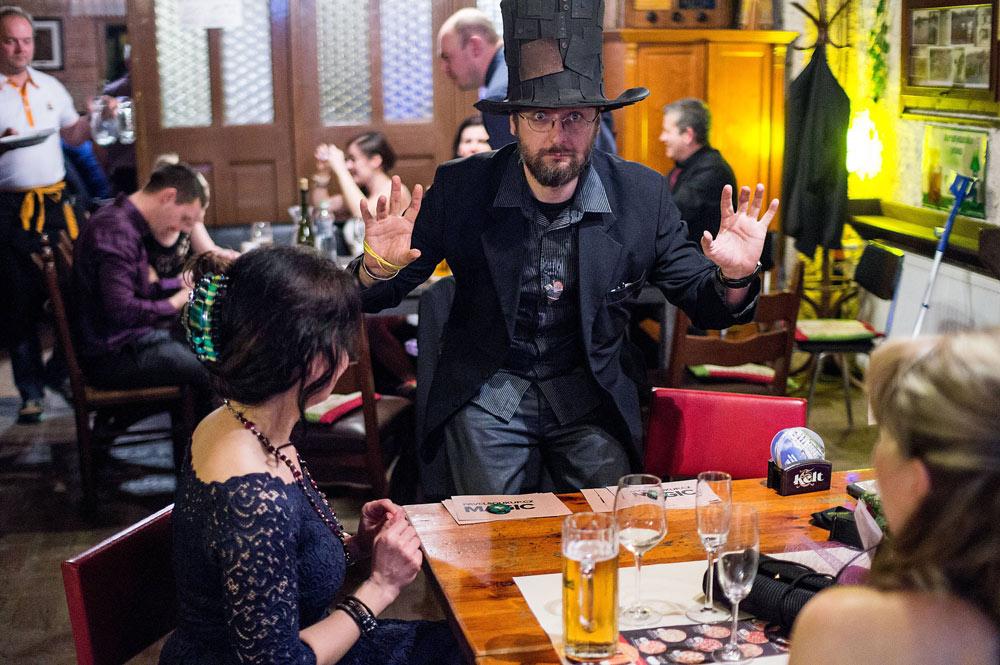 Kouzelník Čáry Kluk - Pavel Soukup - ples Liberec