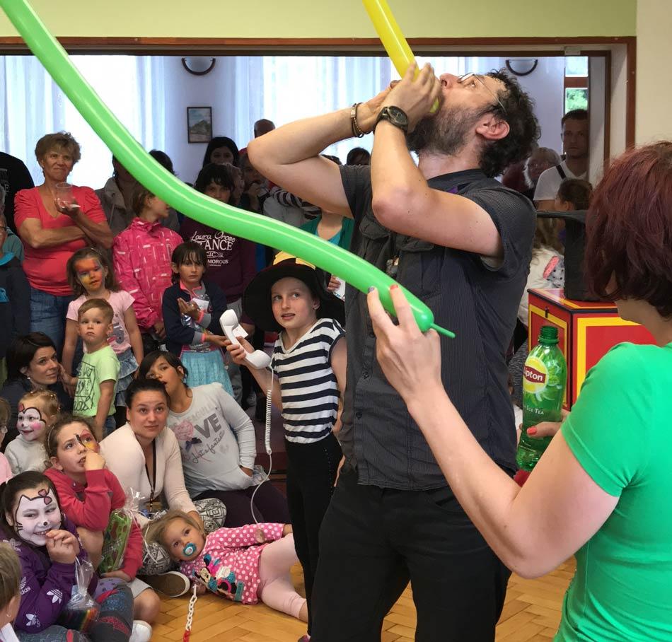 Jiřetín dětský den a kouzelník Čáry kluk