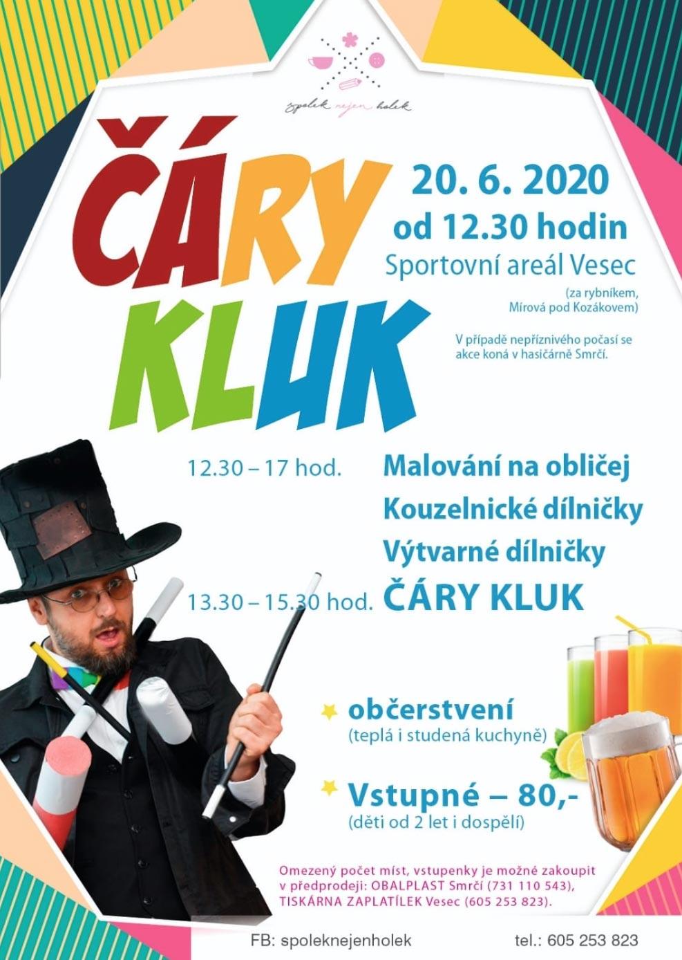 Kouzelník pro děti v Kozákově
