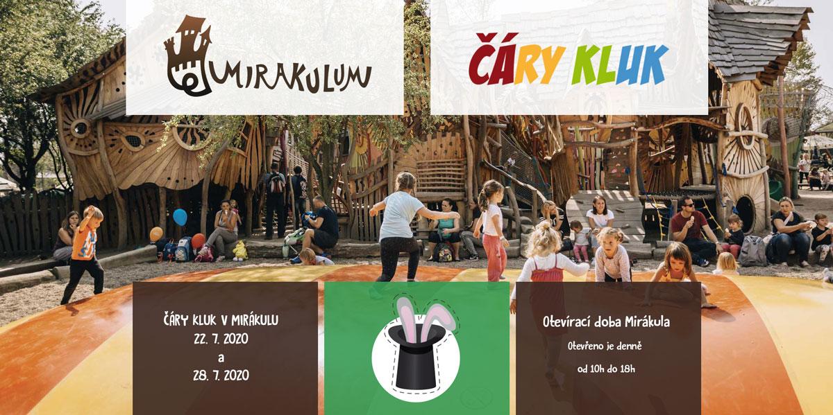 Kouzelník pro děti Mirákulum - zábavní park