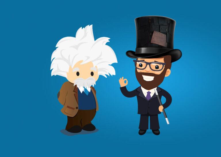 Kouzelník a Alebert Einstein